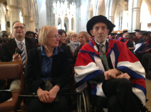 Peter Lang, Honorary Doctorate of Science, 27th March 2015, at University of Bedfordshire, Luton, Lo